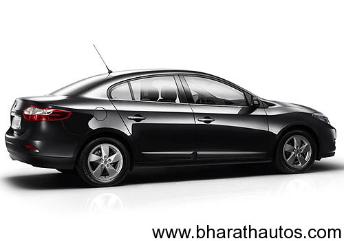 Renault Fluence - SideView