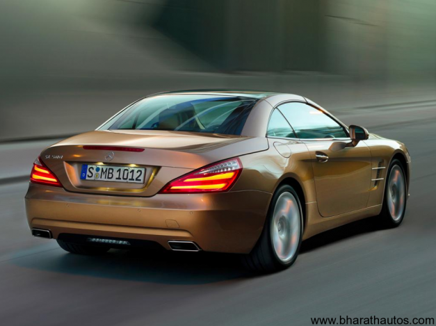 2013 Mercedes-Benz SL - RearView