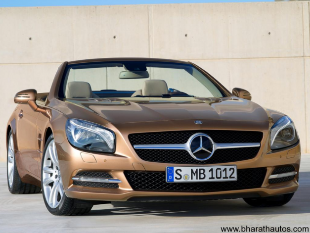 2013 Mercedes-Benz SL - FrontView