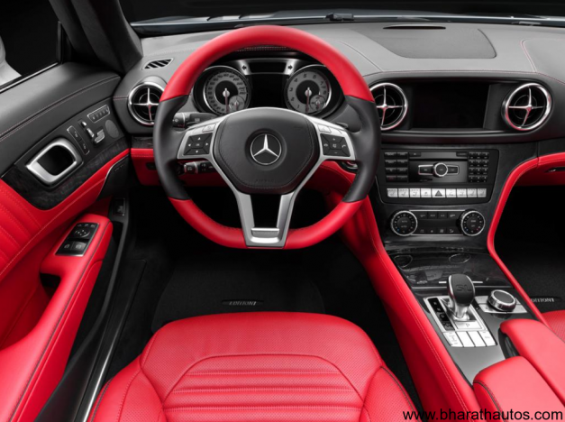 2013 Mercedes-Benz SL - DashboardView