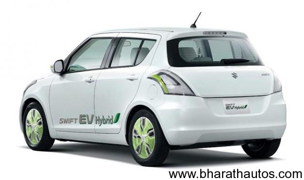 Suzuki Swift EV Hybrid Concept - RearView