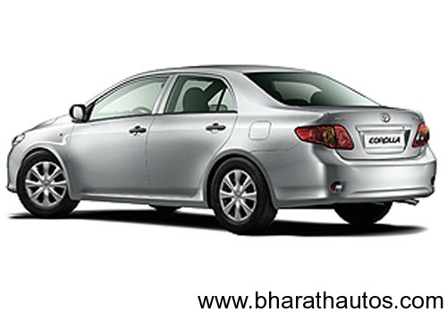2011 Toyota Corolla Altis spied - RearView