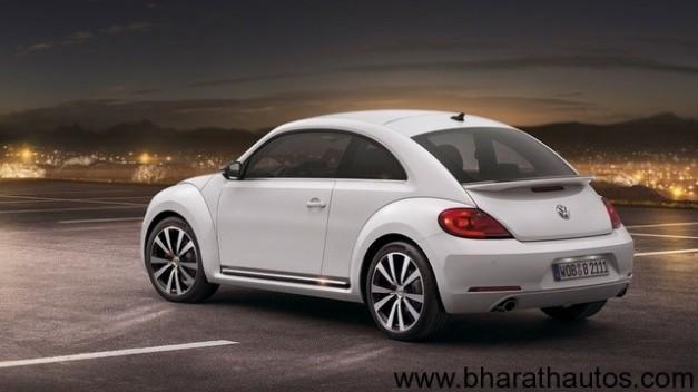 2012 Volkswagen Beetle - RearView