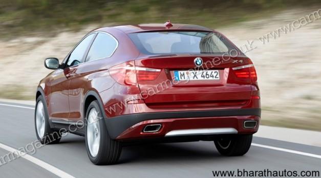 BMW X4 - RearView