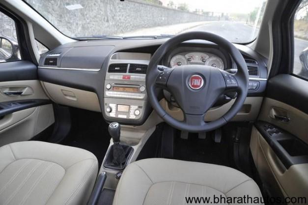 2012 Fiat Linea sedan - Interior