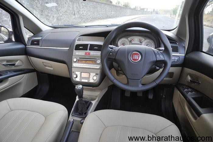 Fiat India Launches 2012 Linea Sedan At A Price Of Rs  6 83 Lakhs