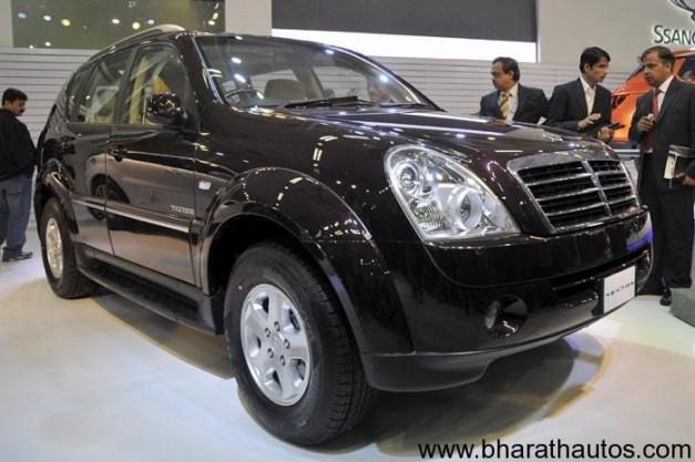 Mahindra Ssangyong Rexton - FrontView