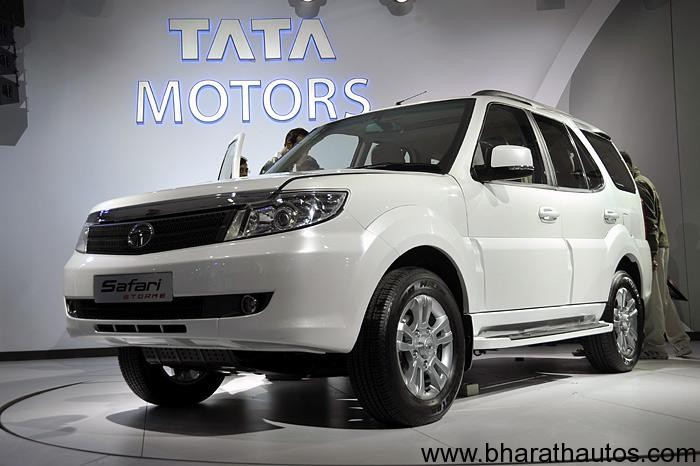 2012 auto expo tata motors unveils the safari storme suv