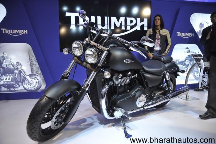 2012 Auto Expo Triumph Launches Seven Bikes For The