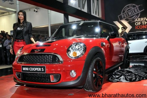Mini Cooper officially launched in India