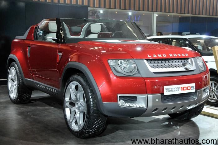 2012 Auto Expo Jlr Showcases The C X16 C X75 Dc 100 Dc 100