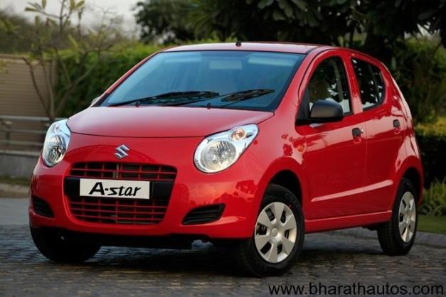 New Maruti A-star