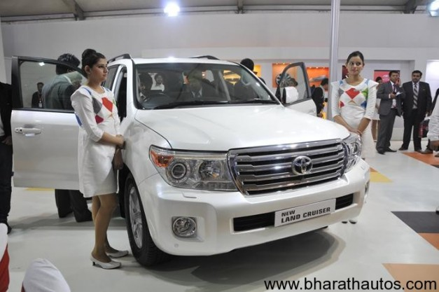 New Toyota Land Cruiser 200