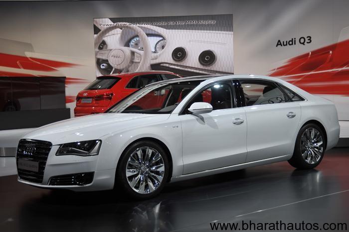 2012 Auto Expo Audi India Showcased The Audi A8 L Security