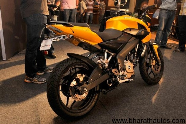 New Bajaj Pulsar 200 NS (Naked Sport) - RearView