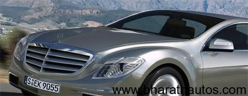 Next gen Mercedes Benz S Class