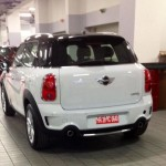 Mini Countryman spied at the BMW dealer in New Delhi