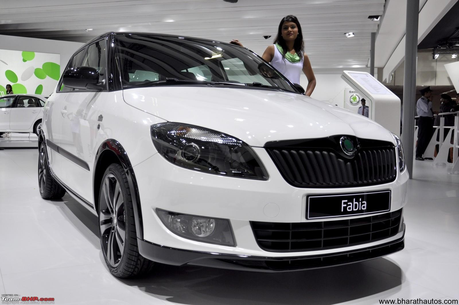 2012 auto expo skoda auto showcased fabia monte carlo rs 2000 concept. Black Bedroom Furniture Sets. Home Design Ideas