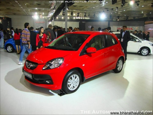 Honda Brio at 2012 Auto Expo