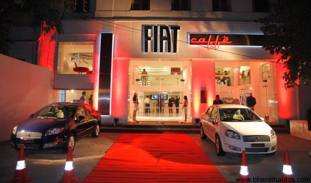 'Fiat Caffe' brand store at New Delhi - 001