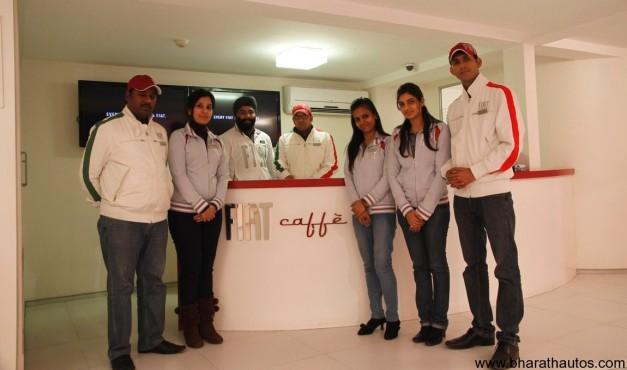 'Fiat Caffe' brand store at New Delhi - 002
