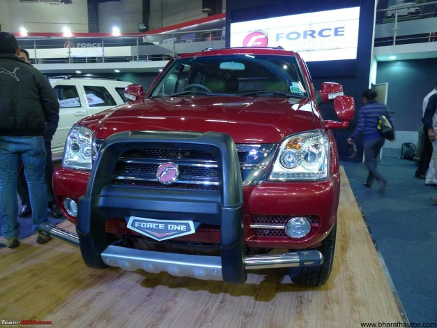Force One 4X4 unveiled at 2012 Auto Expo