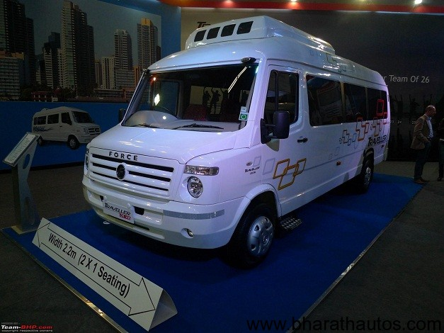 Force Motors Traveller range