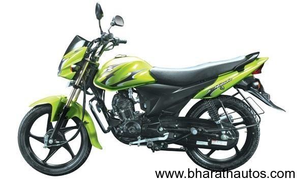 Suzuki Hayate 110cc motorcycle