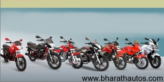 HeroMotorcorp line-up
