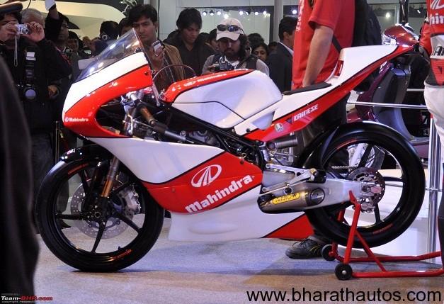 Mahindra Moto3 bike the MGP30