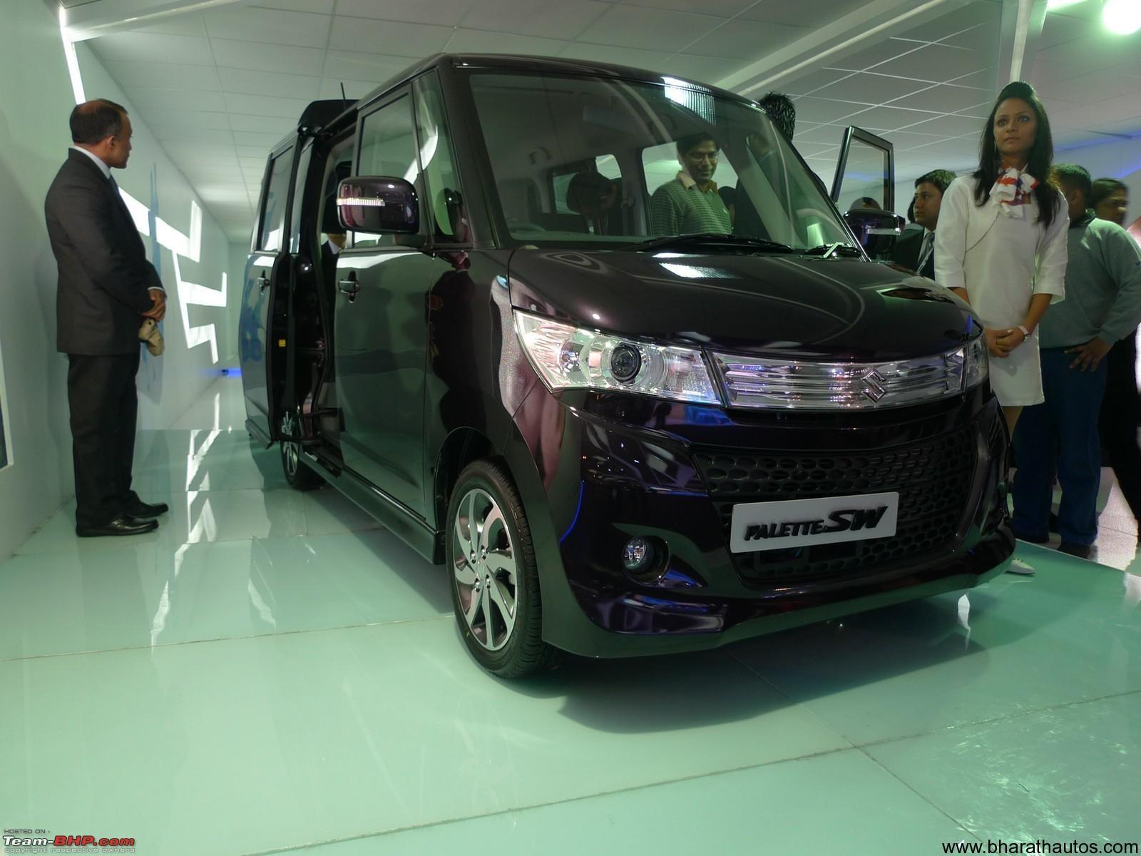 2012 Auto Expo Maruti Suzuki Showcases 660cc Cars Palette Sw