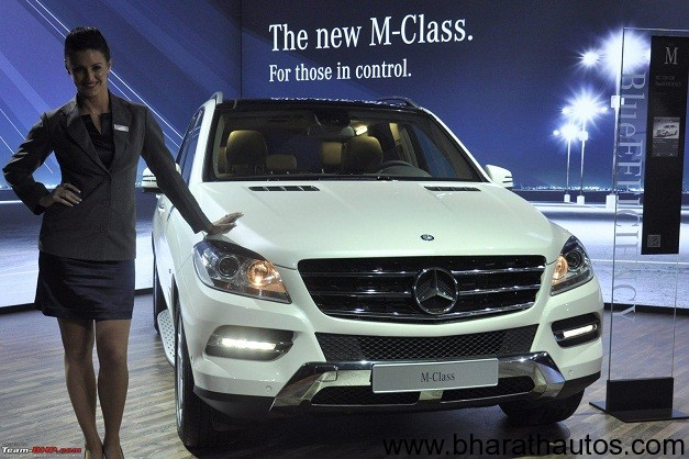 New Mercedes Benz M-class