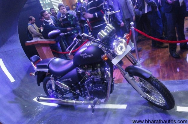 New Royal Enfield Thunderbird 500 at Expo