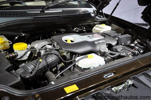 Tata Safari Strome - EngineView