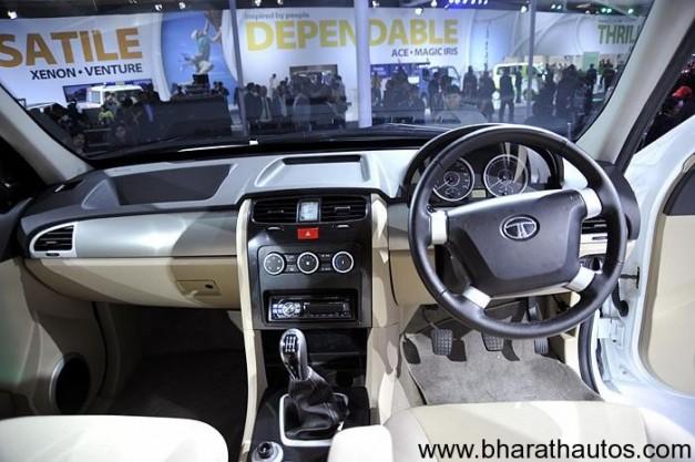 Tata Safari Strome - Dashboard