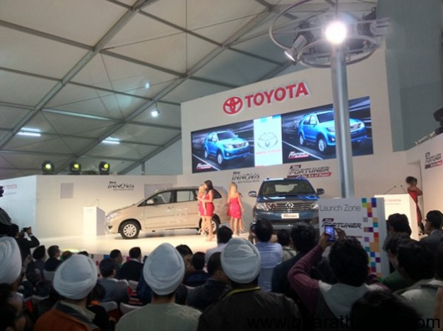 Toyota launches new Innova and Fortuner