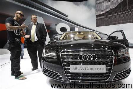 Audi India showcased the Audi A8 L Security