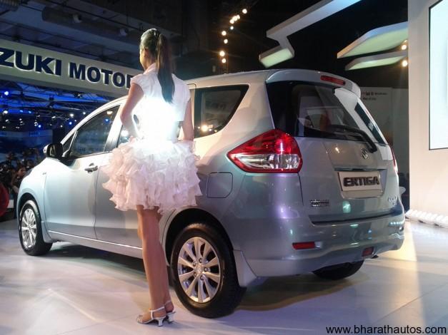 Maruti Suzuki Ertiga MPV - RearView