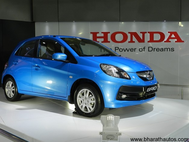 Honda Brio at 2012 Auto Expo