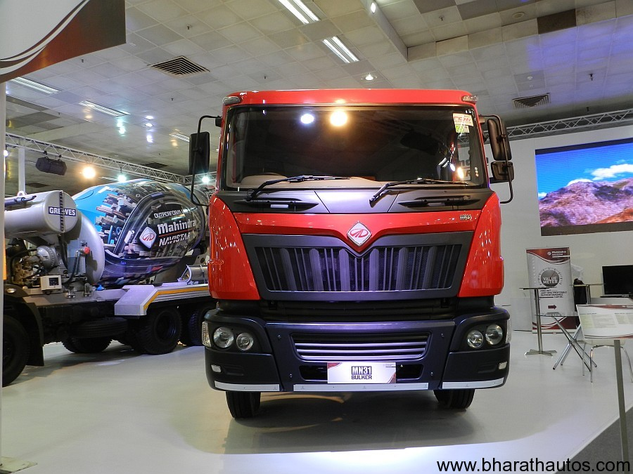 Mahindra Navistar at 2012 Auto Expo