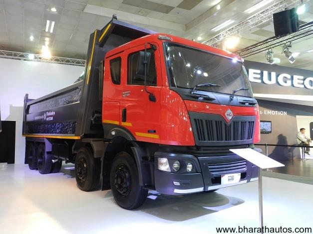 2012 Auto Expo Mahindra Navistar Showcases New