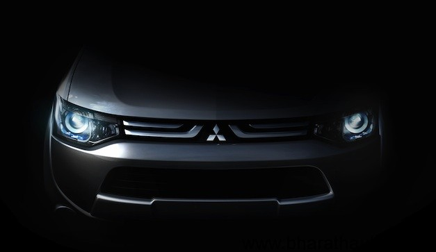 Mitsubishi Teases new vehicle ahead of 2012 Geneva Motor Show Debut