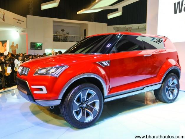 Maruti Suzuki XA Alpha SUV concept - FrontView