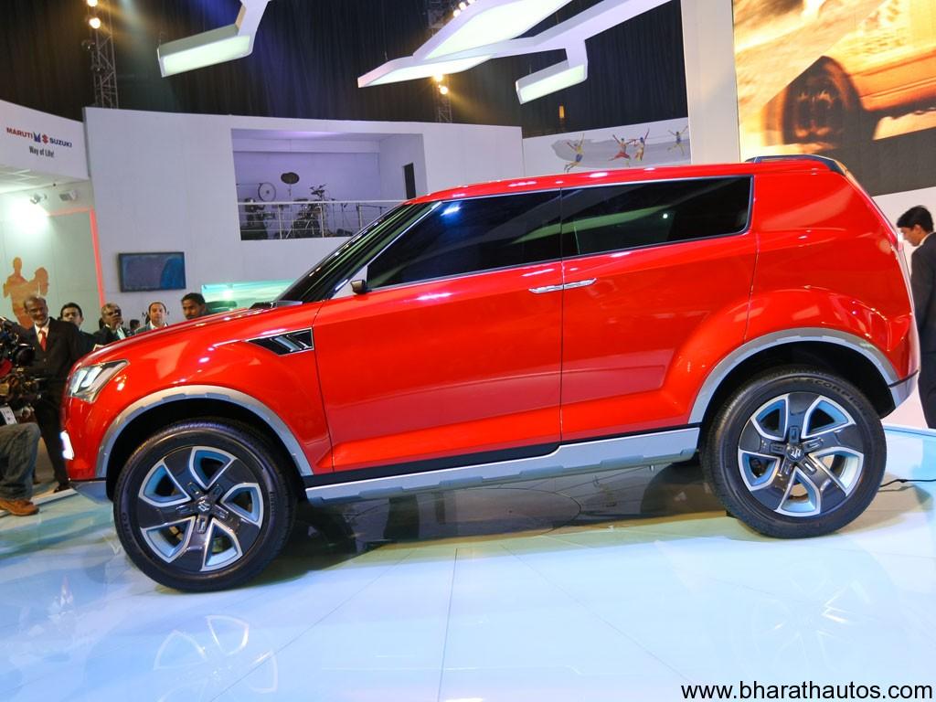 Maruti Suzuki XA Alpha SUV Concept   SideView