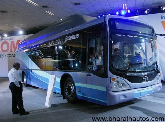 Tata Motors Fuel Cell Starbus