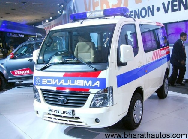 Tata Venture Ambulance