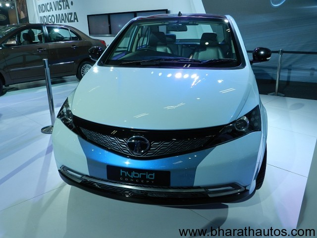 2012 auto expo tata vista concept s2 manza diesel for Tata motors electric car