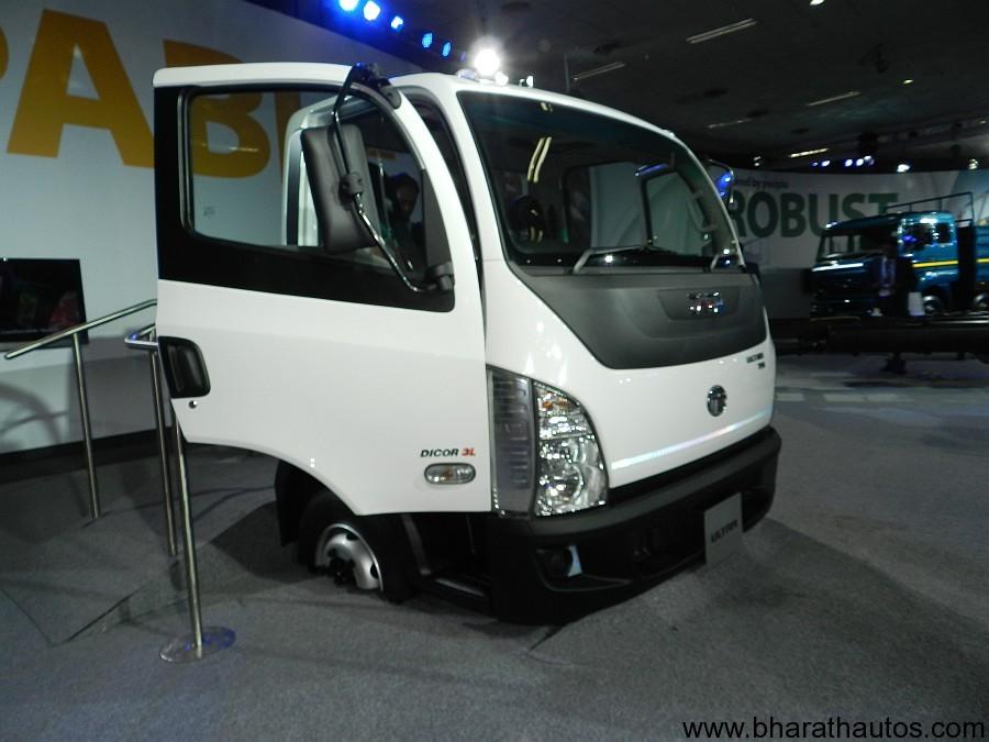 2012 auto expo tata motors unveils ultra range lcv icv for Tata motors commercial vehicles