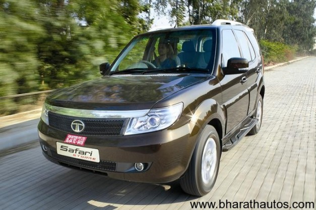 Tata Safari Storme - FrontView
