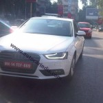 New Audi A4 spied